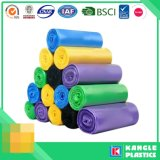 Custom Disposable Plastic HDPE LDPE Garbage Bag on Roll
