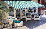 Retractable Awning With Semi-Cassette Style