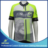 Custom Digital Sublimation Printing Cycling Jersey with Special Light Material