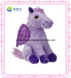 Purple Little Pony with Wings Plush Toy (XDT-0029Q)