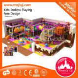 China Manufacture Indoor Playground Slide Circus Themed Children′s Playground Equipment