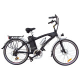 250W Mountain Lithium Battery Electric Bicycle with Headlight (TDE-038)