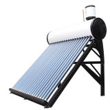 Solar Vacuum Tube Water Heating System