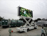 P8 SMD Full Color with Sound System Vehicle Mounted Truck Mobile LED Display