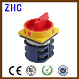 European 20A 25A 30A 40A 50A 63A 1p 2p 3p 4p 7p 10p Postion 1-0-2 Electric Voltmeter Selector Changover Rotary Cam Switch