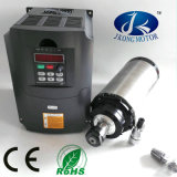 220V 3kw Round or Square Air Cooling Spindle Motor with 4kw VFD