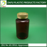 300ml Pet Amber Bottle with Child Proof Cap