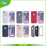 Mobile Phone Accessories Anti Shock Hybrid 3 in 1case for iPhone 6 with Kickstand