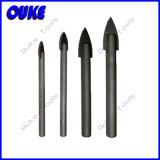 High Quality Glass Drill Bit Sharped Round Shank