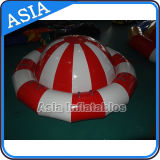 Inflatable Floating Spin Water Discoboat for Water Game