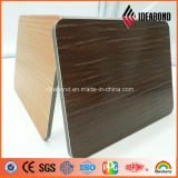 Ideabond Newly Developed Embossed Touch Series Wood Aluminum Composite Panel
