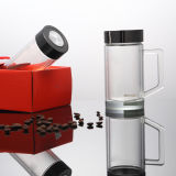 Wholesale New Design Portable Double Wall Glass Shaker Bottle