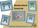 High Quality Wooden Beach Tennis Set