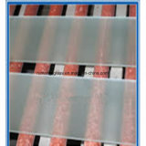 5mm Toughended Flat Acid Etched Glass for Doors and Windows