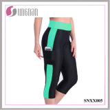 2015 Side Pocket with Phone Fitness Pants Stretch Leggings (SNXX005)