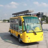 CE Certificate 14 Seater Electric Shuttle Bus for Sale (DN-14)