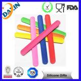 Cheap Silicone Ruler Slap Bracelet, Silicone Slap Wristband