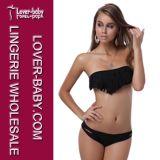 Classy Black Tassel Sexy Lady Bikini (L3053-4)
