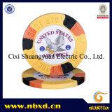 9.5g 3-Tone Sticker Poker Chip