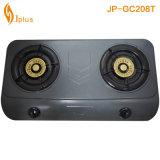 Gray Coating 2 Buner Golden Beehive Burner Gas Cooker (JP-GC208T)