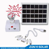 Solar Lantern Portable Solar Light Mini Solar Light System with Mobile Charger