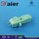 Green Color Plug in AC Power Socket