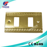 2 Gang Wall Switch Stainless Steel Wall Plate