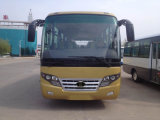 Big Passenger Coach Bus Durable Red Star Travel Buses with 33 Seats Capacity