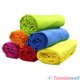 Imprinted Microfiber Suede Sports Towel