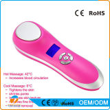 Ultrasonic Ion Facial Beauty Device Massager Eye Massager Face Beauty Hot and Cool Vibrating Facial Massager