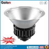 150W 25 60 100 Degree Reflector Clear Frosted Cover 100-277V LED Industrial High Bay Lighting