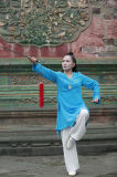 Taoism Tai Chi Women's Spring & Summer Flax Sports Apparel Uniform