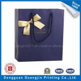 High Quality Paper Gift Packaging Bag with Ribbon Decoration