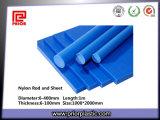 Blue Natural Mc Nylon Plastic Rod