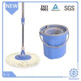 Microfiber Mop Wringer with Single Bucket