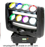 8PCS 10W RGBW 4 in 1 LED Spider Beam Moving Head Light