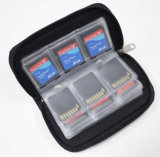 22 Card Slots SD SDHC MMC CF Micro SD Memory Card Storage Carrying Pouch Bag Case Holder Wallet