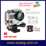 2.0 Inch Ultra HD 4k 170 Degrees Wide Angle Sports Camera Dual Screen 1080P/60fps Action Camera WiFi Video Camera H3r with Remote Control