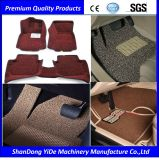 PVC Double and Monochrome Color Sprayed Wire Coil Car Mat