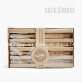 4-PC Set Eco-Friendly Carbonized Bamboo Toothbrush (WBB0804A)