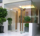 Frameless Glass Automatic Floor Spring