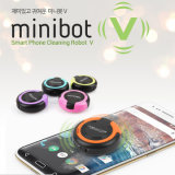 Minibot Smart Phone Screen Cleaning Robot for iPhone 6 iPad Sumsung