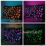 Professional Wedding Decoration Curtain Lighting LED Star Curtain