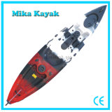 Professional Single Fishing Kayak Sit on Top Flatwater Boats with Rudder Control (M07)