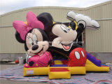 Inflatable Mickey Combo Castle Bouncer for Kids