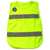 Kids Reflective Strip Polyester High Visibility Security Safety Vest (YKY2852)
