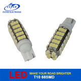 China Wholesale High Brightness T10 1210 68SMD LED Bulb for Car Intorior Light