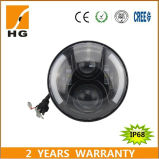 7inch LED Headlight with Angel Eyes for Harley/Jeep/Auto