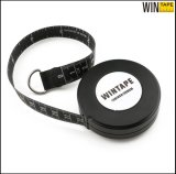 Logo Design 2.5m Round Retractable Waterproof Plastic Tape Measure