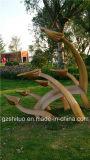 Free Flying, Outdoor Garden Sculpture Decoration, Glass Fiber Reinforced Plastic Materials